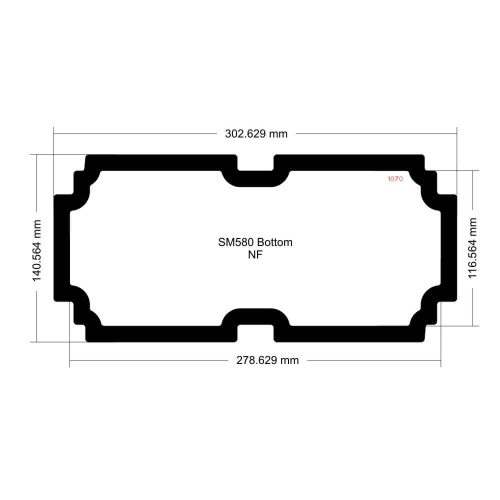 SM580 Bottom Filter