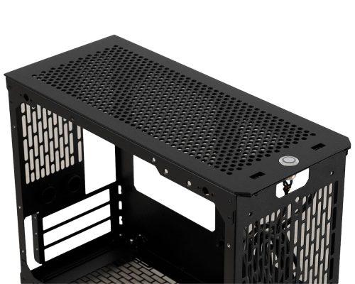 S610 Top Panel Obsidian Black