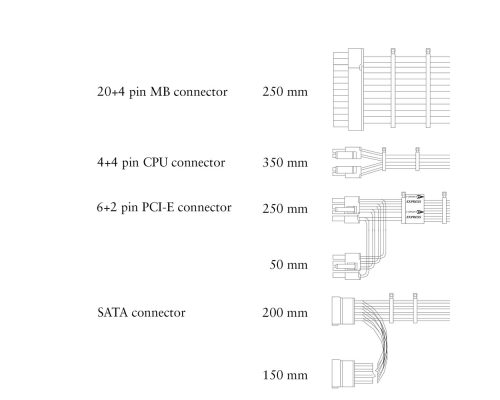 ENP-7660B VK 600W Flex ATX Power Supply